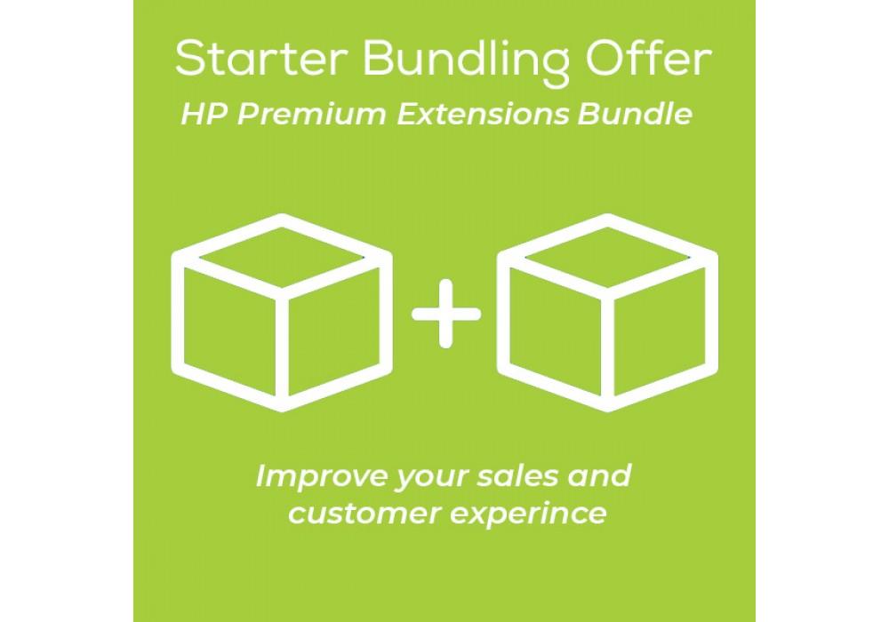HP Starter Bundling OpenCart