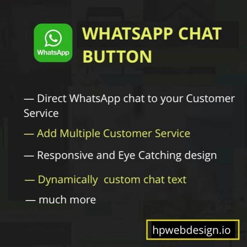 Whatsapp Chat Button OpenCart