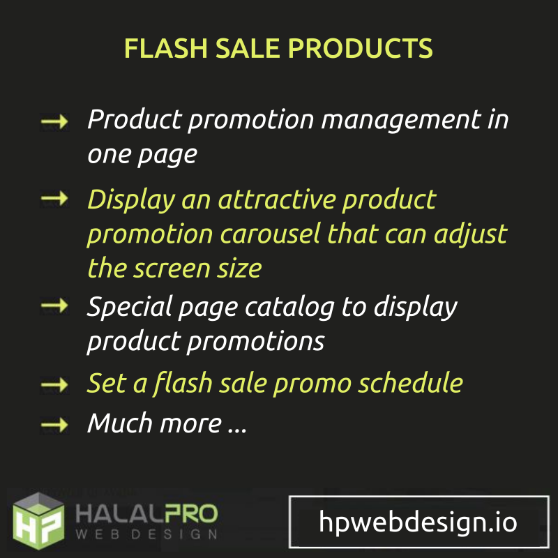 Flash Sale Opencart
