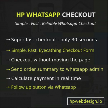 Ajax Whatsapp Checkout OpenCart